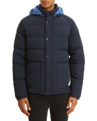 Kenzo Anorak with Contrasting Navy Hood - Lyst