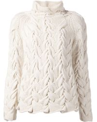 The Row Leander Cashmere and Silk-Blend Sweater - Lyst