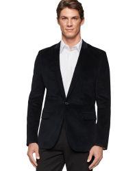 Calvin Klein Slim-fit Velvet Tuxedo Jacket - Lyst