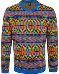 Marc By Marc Jacobs | Assorted Fairisle Wool Knit Jumper | Lyst