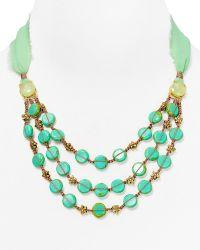 "Coralia Leets - Silk Necklace, 13-24"" - Lyst"