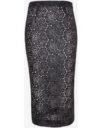 A.L.C. Towner Floral Lace Pencil Skirt Black - Lyst
