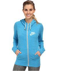 Nike Gym Vintage Full-Zip Hoodie - Lyst