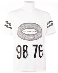 Marcelo Burlon Diego White T-Shirt white - Lyst