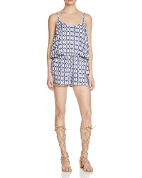 Jack BB Dakota - Havana Inkblot Stripe Romper - Bloomingdale's Exclusive - Lyst