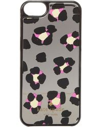 Kate Spade Cyber Cheetah Mirror Resin Phone Case For The Iphone 5 and 5s - Lyst