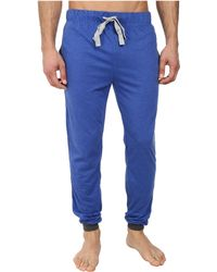 Kenneth Cole Reaction Blue Jersey Pants - Lyst