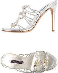 Ralph Lauren Collection Sandals - Lyst