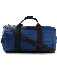 Moncler Blue Padded Hold-All - Lyst