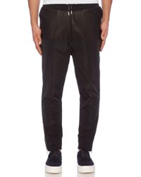 Blood Brother Black Track Jogger - Lyst