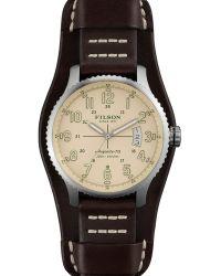 Filson | The Mackinaw Field Leather Strap Watch, 43mm | Lyst