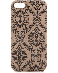 Jagger Edge - Lace Iphone 5 / 5S Case - Taupe - Lyst