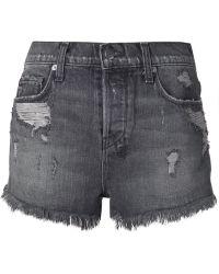 Ksubi Faded Distressed Jeans Shorts - Lyst