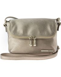 Kenneth Cole Reaction Wooster Street Leather Foldover Crossbody Bag - Lyst