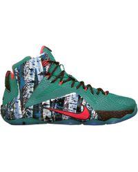 Nike Lebron 12 Christmas - Lyst