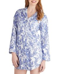 Blush Lingerie - Toile You Were Sleeping Nightgown - Lyst