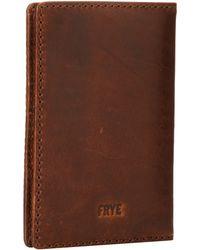 Frye Logan Passport Wallet - Lyst
