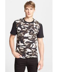 Neil Barrett Romeflauge Antiquity T-Shirt black - Lyst