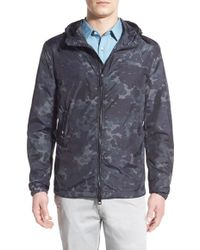 Burberry Brit - 'attworth' Hooded Zip Jacket - Lyst
