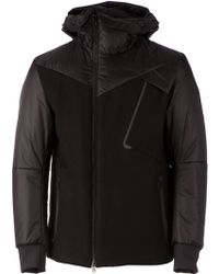 Griffin - Contrast Padded Jacket - Lyst