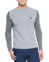Kenzo Cotton-blend Logo Sweater - Lyst