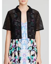 Nanette Lepore Jacket - Barely There - Lyst
