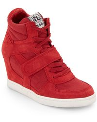 Ash Cool Wedge Sneakers - Lyst