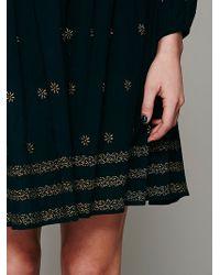 Intimately Shayanti Smocked Robe - Black