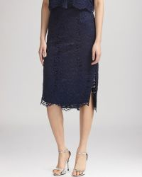 Whistles Skirt - Camilla Lace Pencil - Lyst