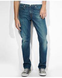 Levi's 513 Slim Straight Fit Cash Jeans - Lyst