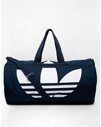 adidas Originals - Canvas Duffle Bag - Lyst