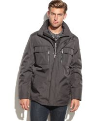 Calvin Klein Solid Active Performance Coat - Lyst
