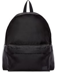 Porter - Black Satin Focus Day Pack Backpack - Lyst