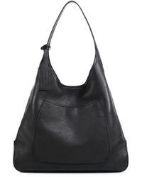 Prada Deerskin Hobo Bag black - Lyst