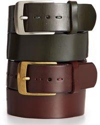 Tommy Hilfiger Heavy Hand Tack Belt - Lyst