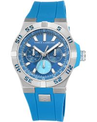 Vince Camuto Stainless Steel Accent Watch - Blue