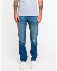 Levi's Blue 501 Jeans - Lyst