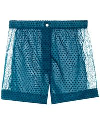 Raphaëlla Riboud - Fred Swiss-Dot Shorts - Lyst
