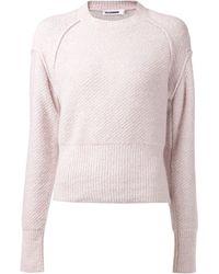 Jil Sander Basic Sweater - Lyst