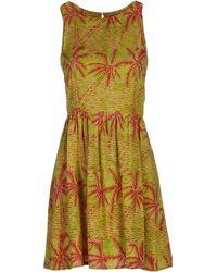 Sugarhill - Short Dress - Lyst