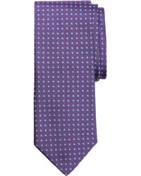 Brooks Brothers Micro Square Tie - Lyst
