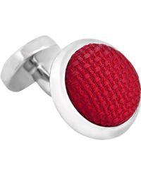 Thomas Pink - Watford Woven Button Cufflinks - Lyst