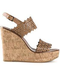 Tory Burch 'Daisy' Wedge Sandals - Lyst