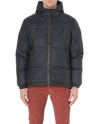 Paul Smith Quilted Down-filled Coat - Lyst