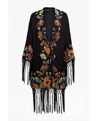 French Connection Seychelles Drape Kimono Jacket - Lyst