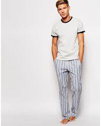 Original Penguin Pyjamas Set - Gray