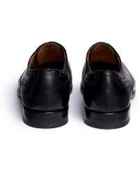 Rolando Sturlini | 'parma' Full Brogue Leather Oxfords | Lyst