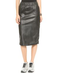 Cheap Monday Secret Skirt  Black - Lyst
