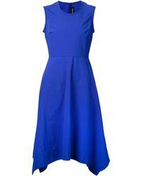 Yigal Azrouel Flared Asymmetric Dress - Lyst
