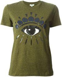 Kenzo Green Eye T-shirt - Lyst